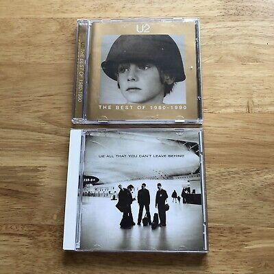 U2 - 2 CD Bundle - Greatest Hits 1980-1990 & All That You Cant Leave Behind