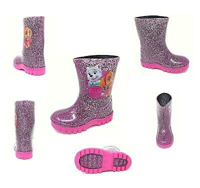 Girls Official Paw Patrol Rain Wellies Wellington Boots 5-10