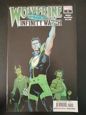 ⭐️ WOLVERINE: Infinity Watch #5a (2019 Marvel Comics) VF/NM Comic Book