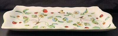 "VINTAGE 1930's James Kent ""Old Foley"" Strawberry Sandwich Tray - Plate"