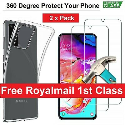 Tempred Glass Screen Protector For Samsung Galaxy A10 A20e A40 A50 A70 A51 A71