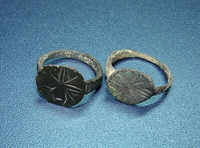 Ancient bronze  RINGS BABY  Middle Ages. Оriginal.
