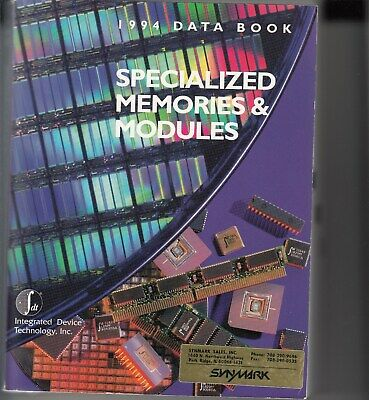 Specialized Memories & Modules - 1994 Edition