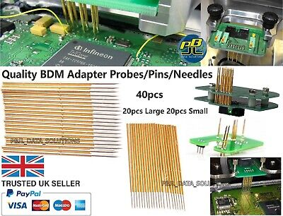 Quality BDM Adapter Probe Pins Needles ECU Chip Tuning Remap