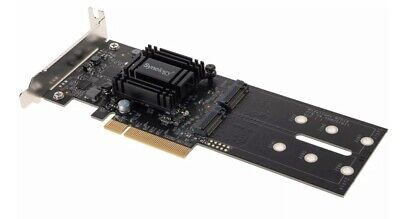 Synology M2D18 PCIe Gen2 x8 for Dual M.2 SSD Card for DS1618+ & DS1817+