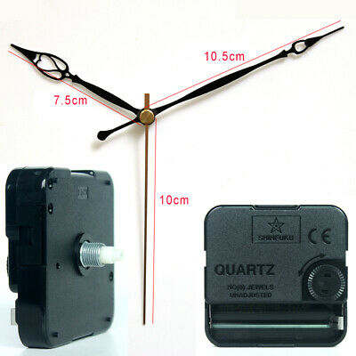 Quartz Wall Clock Movement Mechanism with 20# Hands Silent Plastic DIY Kits Home