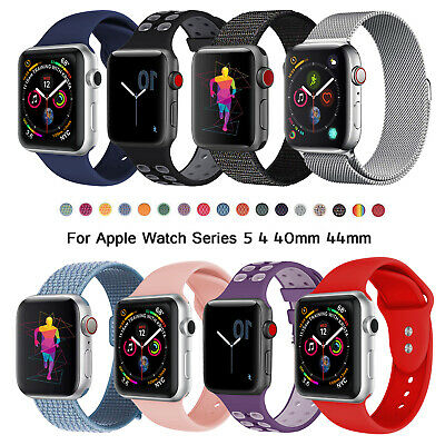 For Apple Watch Band 42mm 44mm iWatch Series 5/4 Stainless Steel Wristband Strap