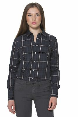 Fred Perry Camicia Nero 0032 Donna Woman 31213262 Shirt 8052408672411