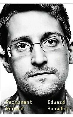 Permanent Record Political Intelligence Social by Edward Snowden Hardcover NEW!!