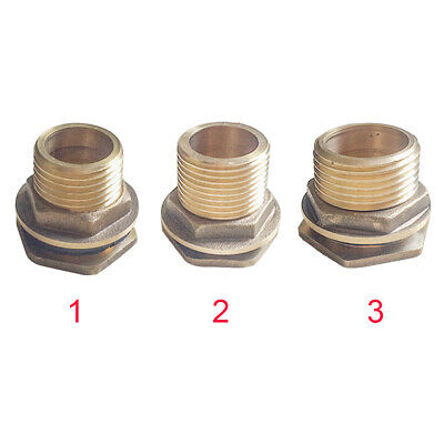 Soild Adapter Stainless Steel Straight Theaded Fitting Water Tank Connector Male