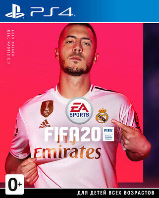 #Brand New | FIFA 20 | PS4, 2019 | CUSA | Russian Cover | Factory Sealed