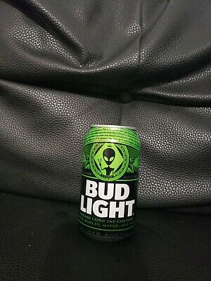 Bud Light Area 51 Green Alien Brand New Full Can Limited Collectors Item