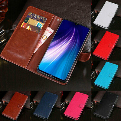 For Xiaomi Redmi Note 8 Pro 8A Mi 9 Lite SE Flip Leather Wallet Stand Case Cover