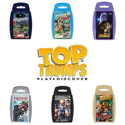 Top Trumps Superheroes Card Games - Brand New & Sealed Direct from Manufacturer