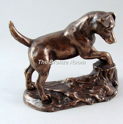 Jack Russell Terrier by Harriet Glen - Bronze Dog Sculpture Figurine Ornament