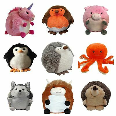 Cozy Time Giant Animal Hand Warmers Soft Cuddly Plush - Childs Gift