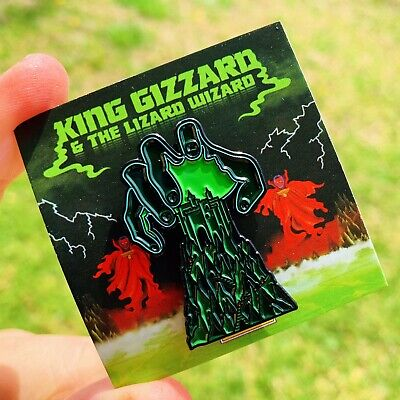 King Gizzard And The Lizard Wizard Im In Your Mind Fuzz Enamel Pin Thee Oh Sees