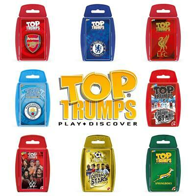 Top Trumps Sports Card Games - Brand New & Sealed Direct from Manufacturer