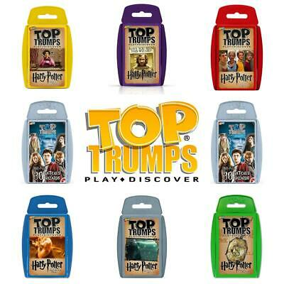 Top Trumps Harry Potter Card Games - Brand New & Sealed Direct from Manufacturer