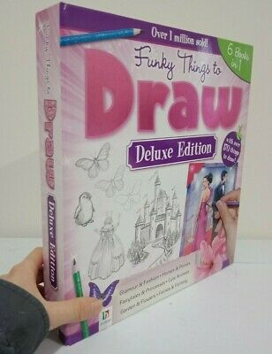 Deluxe Edition Funky Things to Draw - 6 books in 1, with over 170 things to draw