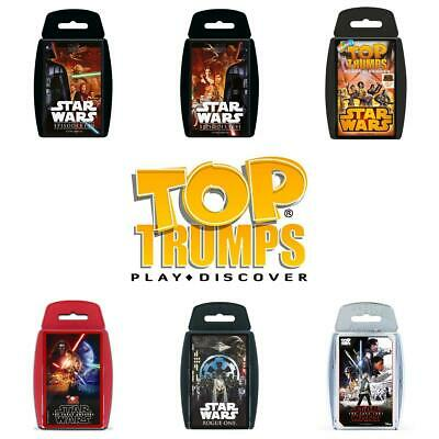 Top Trumps Star Wars Card Games - Brand New & Sealed Direct from Manufacturer
