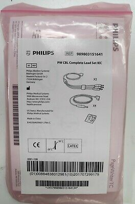 Philips 989803151641 Diagnostic ECG Patient Cables and Leads