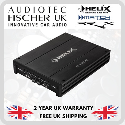 Helix D FOUR 4 channel Amplifier by Audiotec Fischer