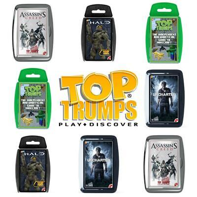 Top Trumps Video Game Card Games - Brand New & Sealed Direct from Manufacturer