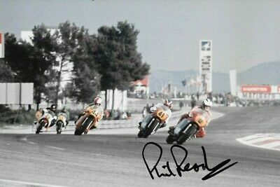 Phil Read SIGNED  MV Agusta  , French Grand Prix  Paul Ricard 1975
