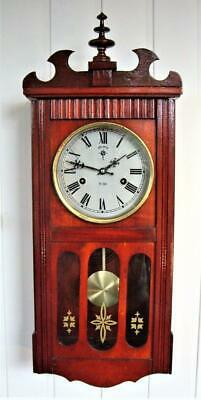 Vintage 31-Day Wall Clock - Working Well