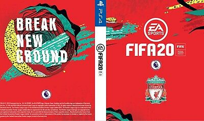 Fifa 20 Liverpool FC Cover for PS4 Playstation 4 Premier League Game Sleeve