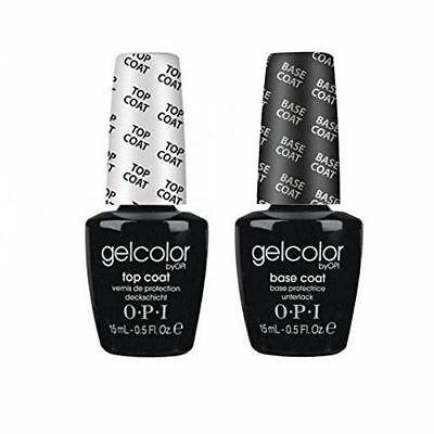 Opi Gelcolor Duo Base Coat+Top Coat 15 Ml / Gel Polish !!