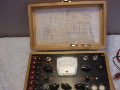 Vintage Ohms Electronic Circuit Master Meter -Volt, AC/ DC Tester