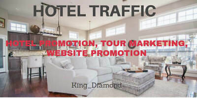 Drive Quality Hotel Traffic, Hotel Promotion, Tour Marketing, Website Promotion