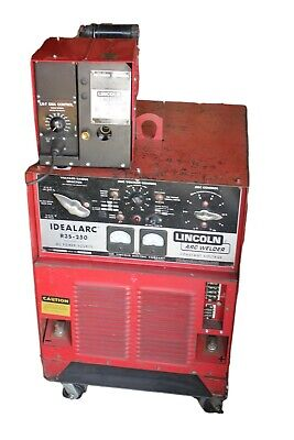Lincoln Idealarc Mig Welder 3 Phase R3S-250 DC Power Source W/ LN-7 GMA Control