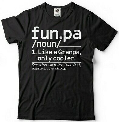 Warning Cool Grandpa Alert Funny Grandfather Paps Father Funny Gift T-shirt Tee
