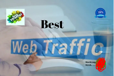 Do Real Traffic Your Website  2000+ Daily Visitors 30 Days Website
