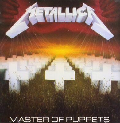 Metallica Master Of Puppets Cd New