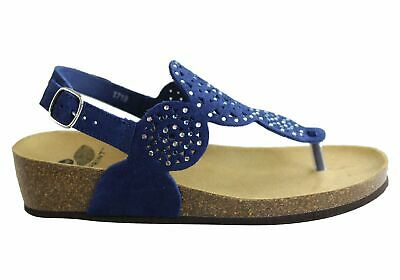 New Scholl Bioprint Abeline Womens Stylish Sandals With Comfort Footbed