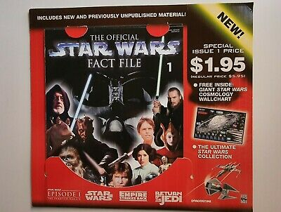 The Official Star Wars Fact File Issue 1 by DeAgostini Original Packaging