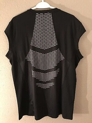 Brand New! Nike Hypercool Sleeveless Compression Shirt Black 869475-010 Size XL