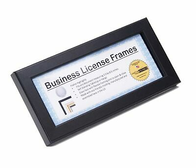 black business license certificate frames for professionals 4 5x9bk creativepf bcana eparna