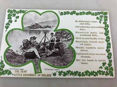 Vintage - Postcard - Killarney Ireland Sent To Brighton - Killarney Lakes