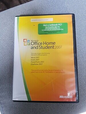 Microsoft Office Home And Student 2007 Edition + Key
