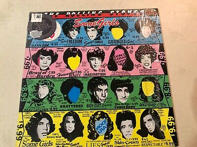 Rolling Stones Some Girls In Shrink 1978 Excellent