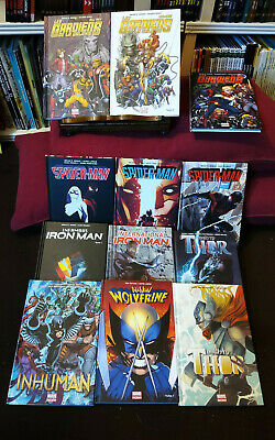Panini comics MARVEL NOW lot de 12 albums Tbe Spider New gardiens  mighty thor..