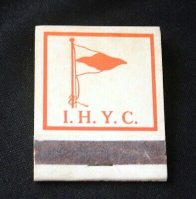 Vintage INDIAN HARBOR YACHT CLUB Greenwich CT Matches