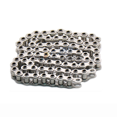 1M Roller Chain Industrial transmission Single Row Pin Hollow Chain 304Ss
