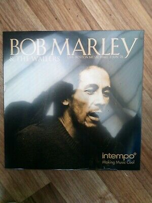 BOB MARLEY & THE WAILERS LP / LIVE AT BOSTON MUSIC HALL 8th JUNE 1978  new seale