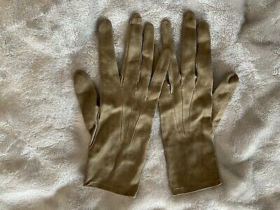 Vintage French Leather Trefousse Gloves 8 3/4